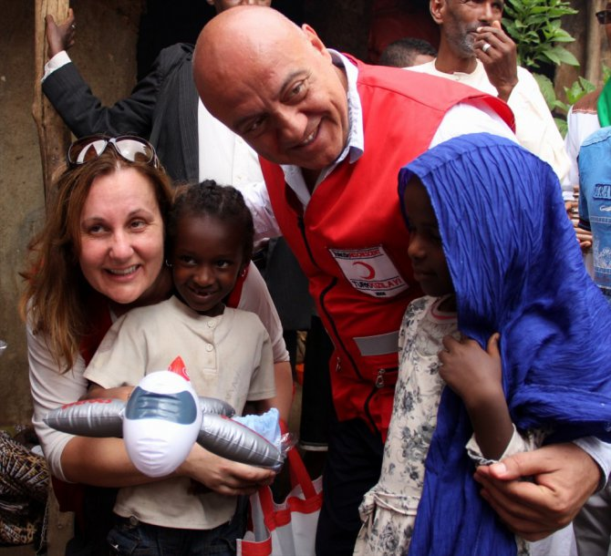 Türk Kızılayından Etiyopya'ya yardım eli