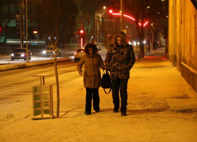 Trakya'da kar kış kıyamet!