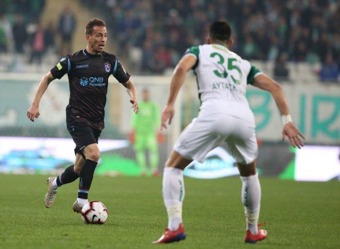 Süper Lig'de Trabzonspor Bursaspor'u da yendi 1-0