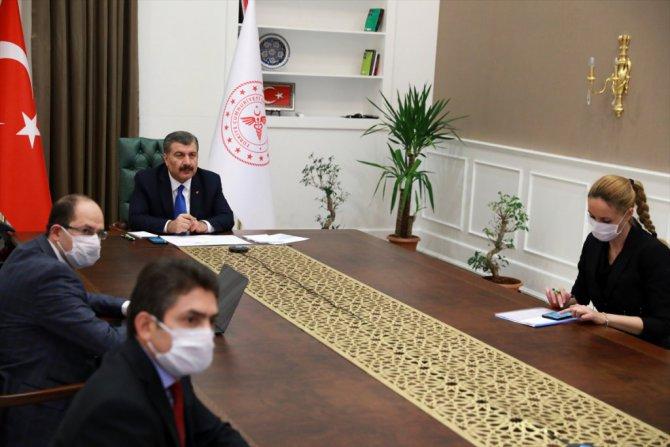 Bakan Koca, Koronavirüs Bilim Kurulu Toplantısı'nın ardından açıklamalarda bulundu: (1)